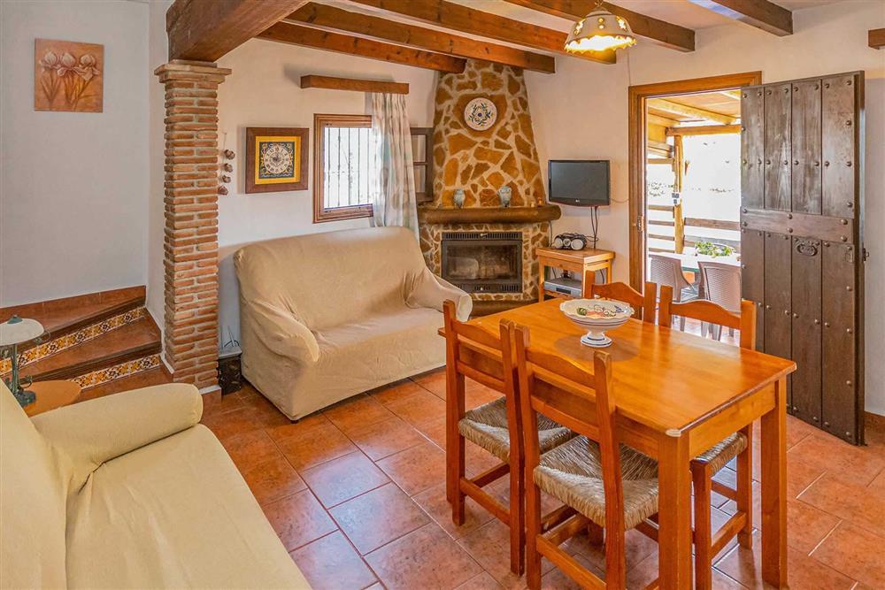 Lounge at Villa Cecilio, Nerja, Andalucia