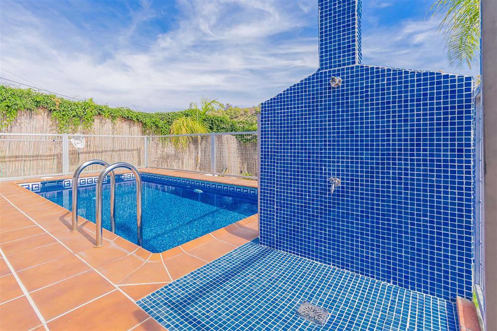 Swimming pool at Villa Cecilio, Nerja, Andalucia