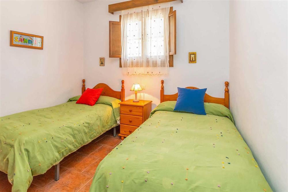 Twin bedroom at Villa Cecilio, Nerja, Andalucia