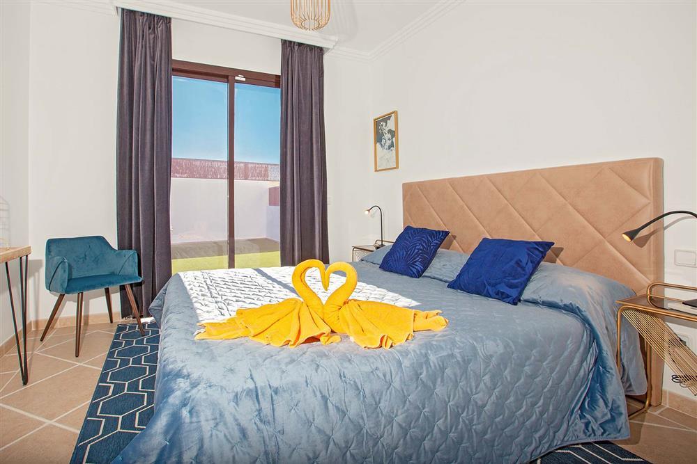 Double bedroom at Villa Cindy, Playa Blanca, Lanzarote