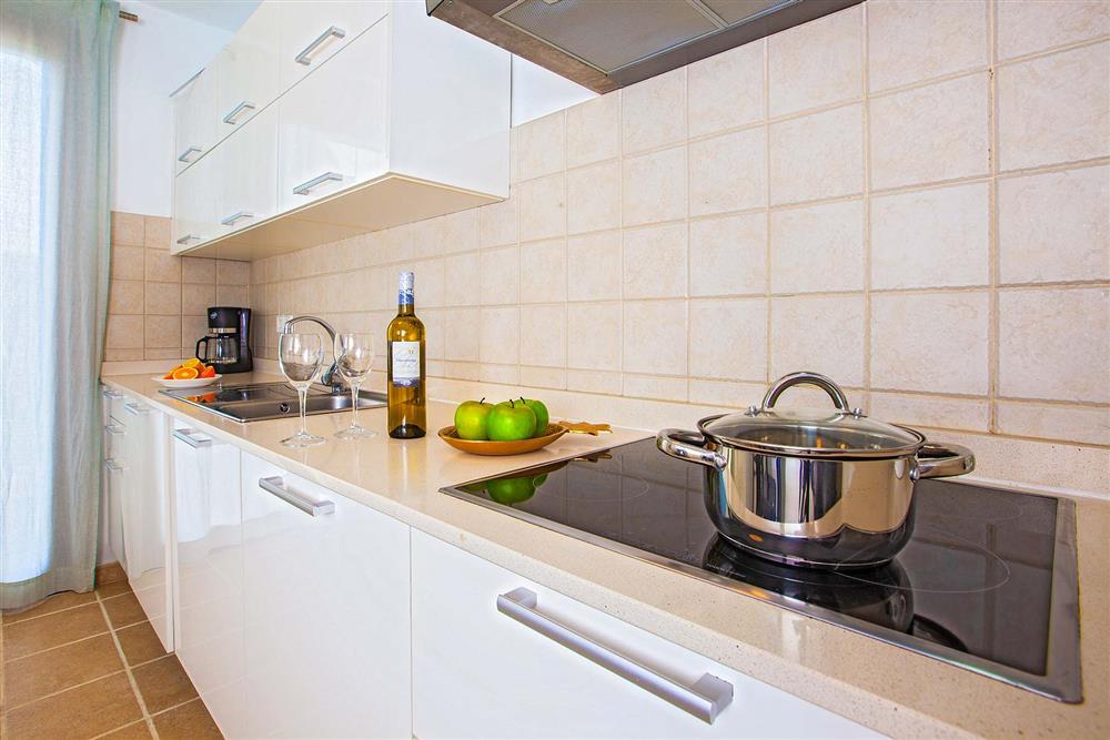The kitchen at Villa Cindy, Playa Blanca, Lanzarote