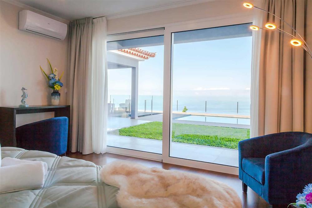 Bedroom, view at Villa Clementina, Funchal, Madeira
