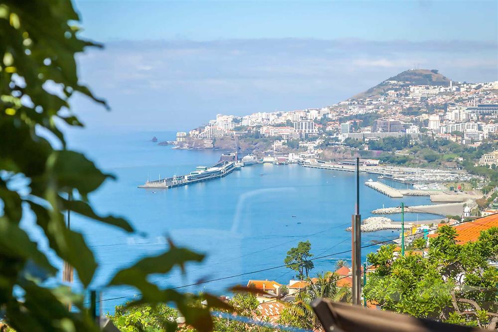 View at Villa Clementina, Funchal, Madeira