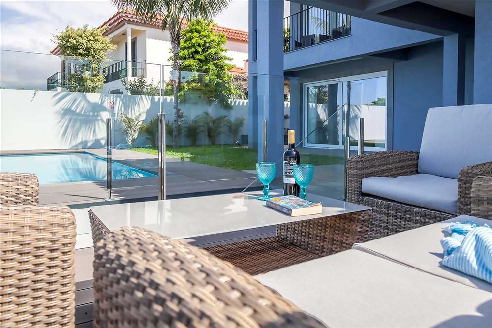 Villa with pool, alfresco dining at Villa Clementina, Funchal, Madeira