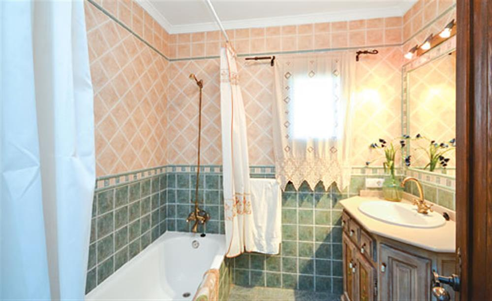 Bathroom at Villa Conchi, Frigiliana, Andalucia