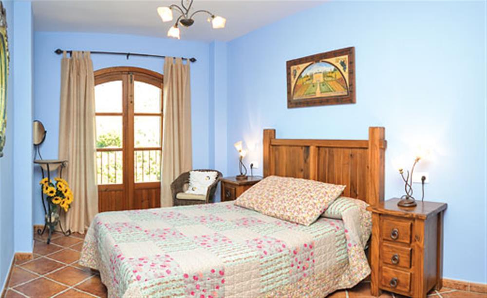 Double bedroom at Villa Conchi, Frigiliana, Andalucia