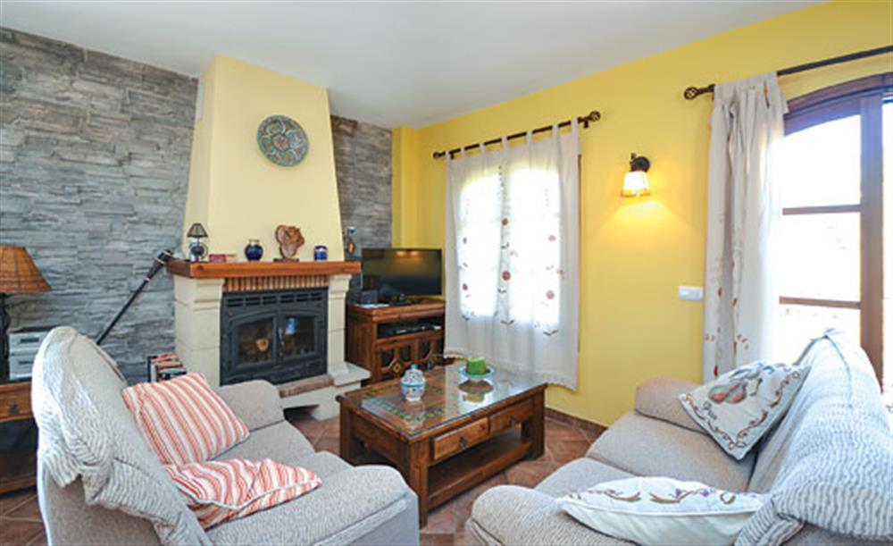 Living room at Villa Conchi, Frigiliana, Andalucia