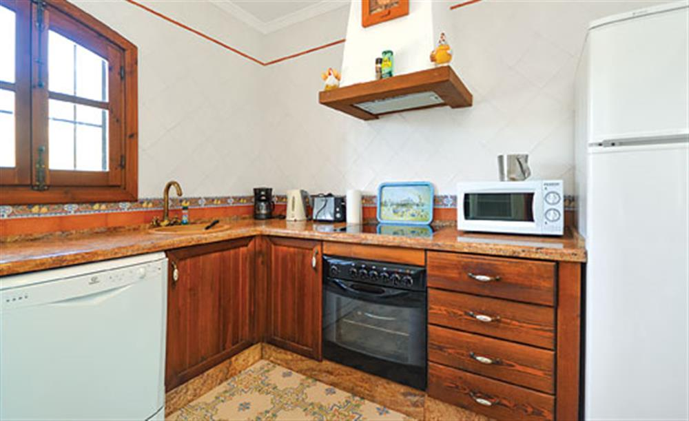 The kitchen at Villa Conchi, Frigiliana, Andalucia