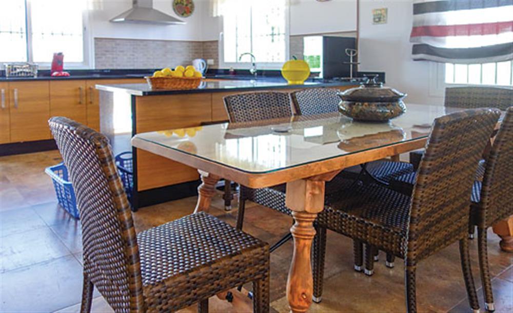 Dining room at Villa Cortijo el Olivar, Torrox, Andalucia