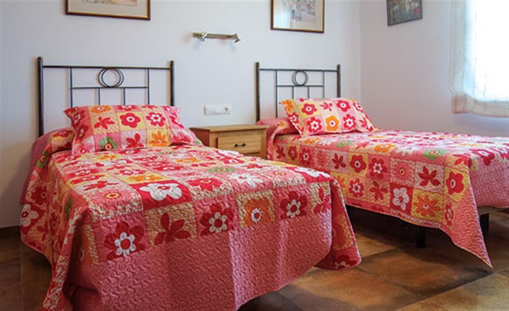 Twin bedroom (photo 2) at Villa Cortijo el Olivar, Torrox, Andalucia