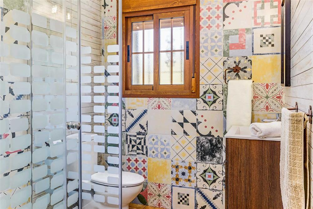 Bathroom (photo 2) at Villa Cortijo Herrero, Frigiliana, Andalucia