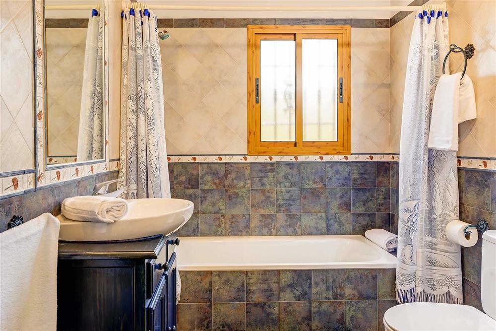 Bathroom at Villa Cortijo Herrero, Frigiliana, Andalucia