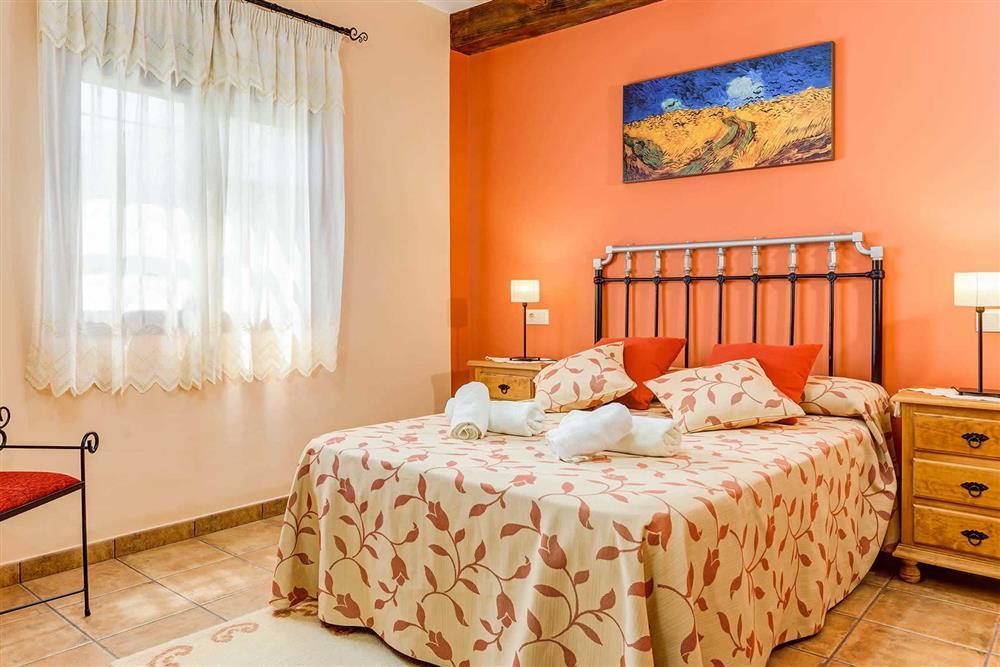 Double bedroom at Villa Cortijo Herrero, Frigiliana, Andalucia