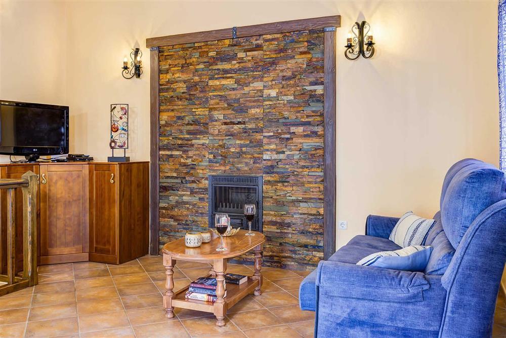 Lounge at Villa Cortijo Herrero, Frigiliana, Andalucia