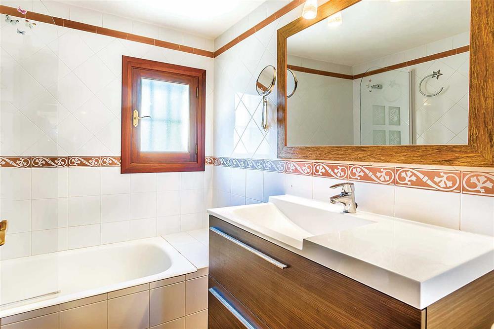 Bathroom at Villa Cosme, Pollensa, Mallorca, Spain