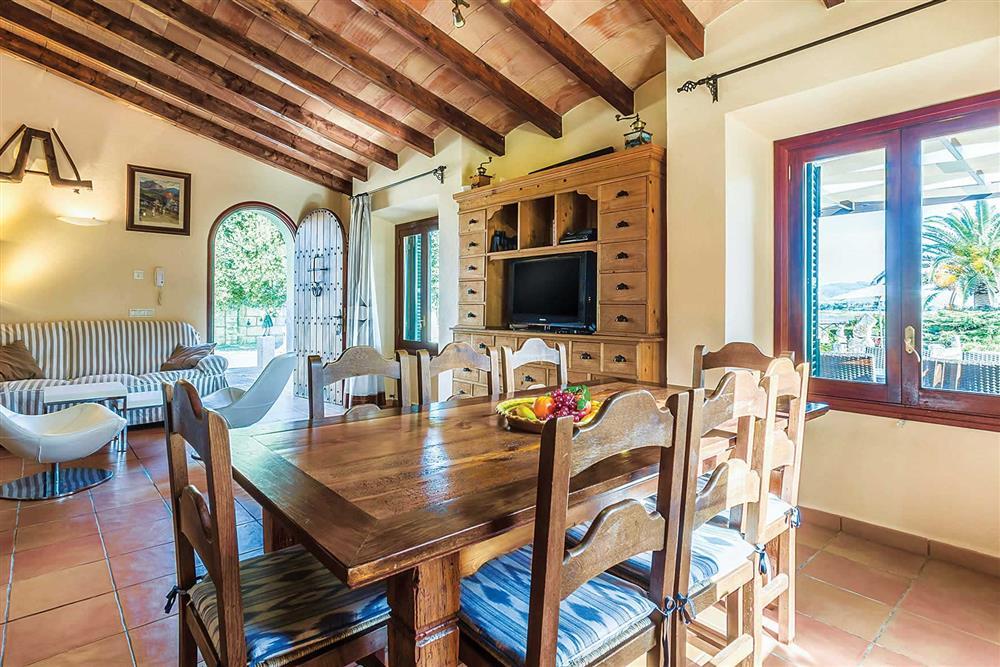 Dining room at Villa Cosme, Pollensa, Mallorca, Spain
