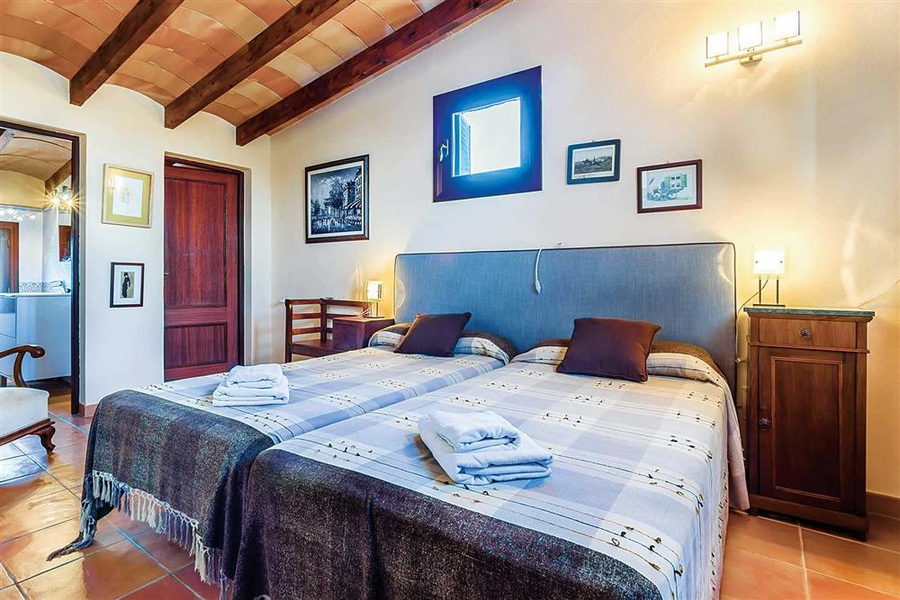 Double bedroom at Villa Cosme, Pollensa, Mallorca, Spain