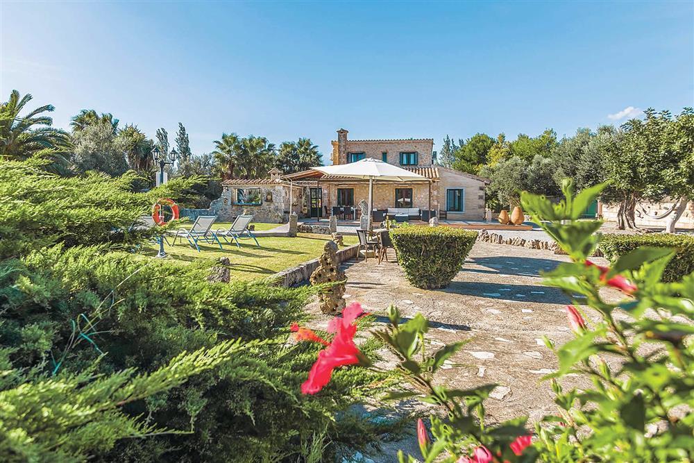 Villa exterior at Villa Cosme, Pollensa, Mallorca, Spain