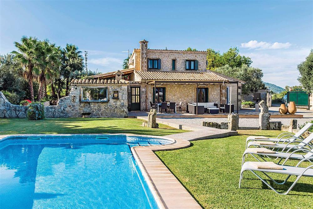 Villa with pool, pool at Villa Cosme, Pollensa, Mallorca, Spain