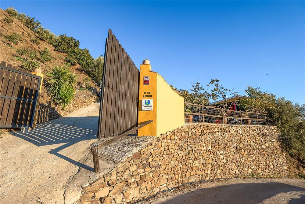 Access to villa