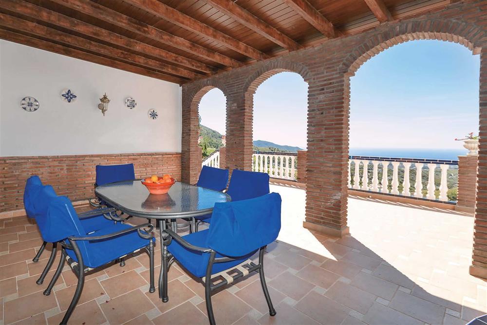 Alfresco dining at Villa El Pedregal, Mainland Spain, Spain
