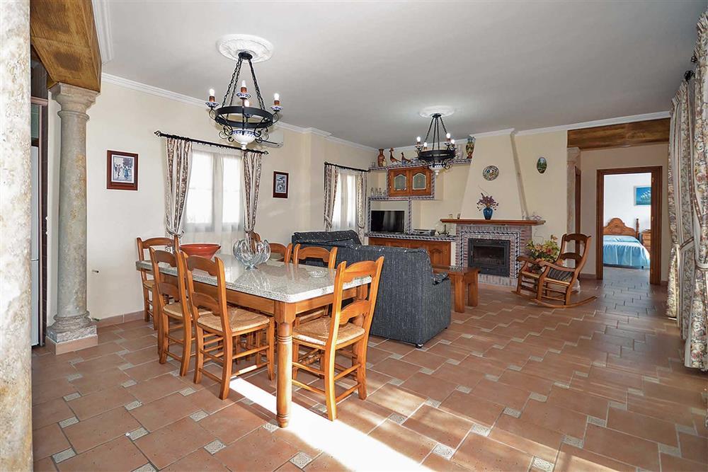 Dining room, lounge at Villa El Pedregal, Mainland Spain, Spain