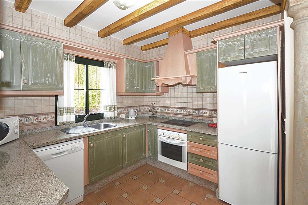 Kitchen at Villa El Pedregal, Mainland Spain, Spain