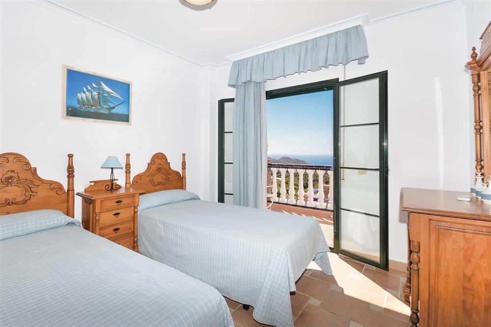 Twin bedroom at Villa El Pedregal, Mainland Spain, Spain