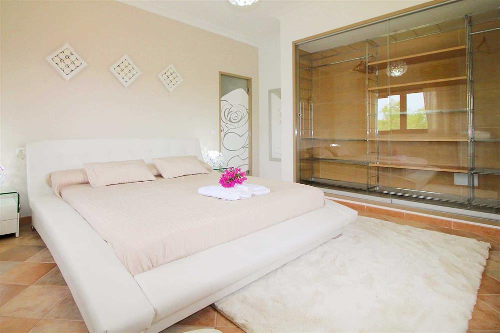 Double bedroom at Villa Es Bosqueres, Santa Margalida, Mallorca