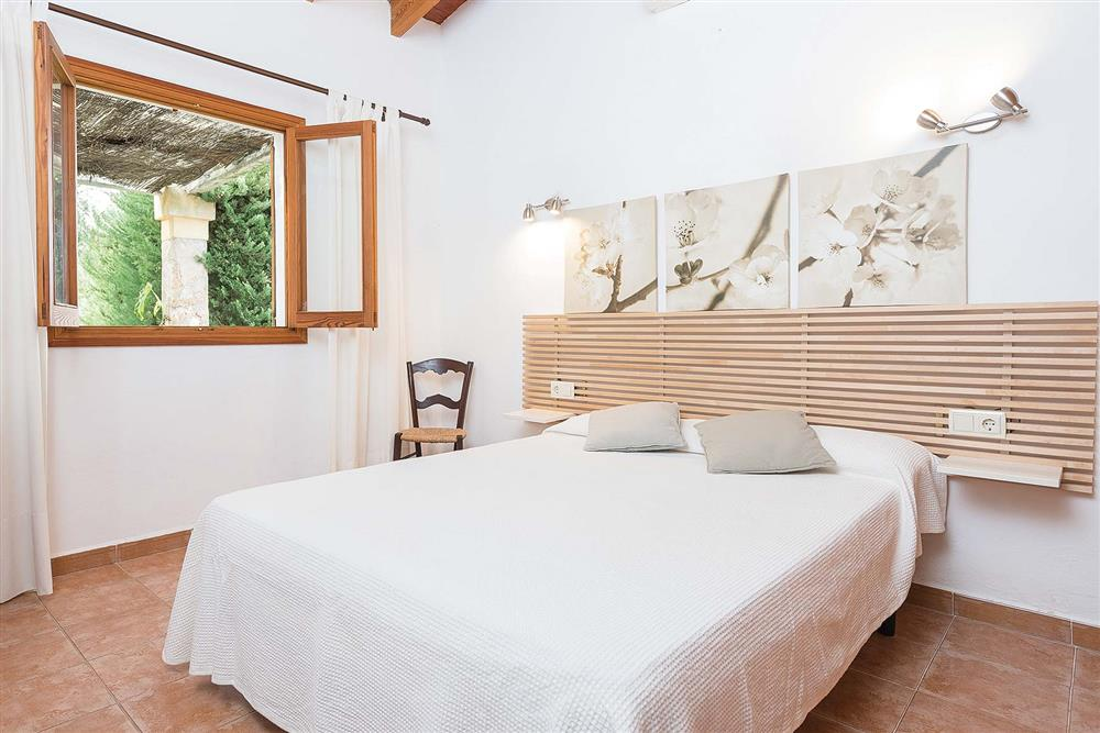 Double bedroom at Villa Es Moli den Fanals, Alcudia, Mallorca