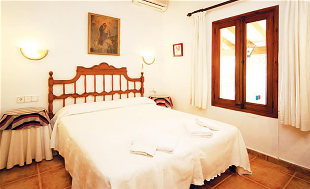 Double bedroom at Villa Isabel, Pollensa Mallorca, Spain