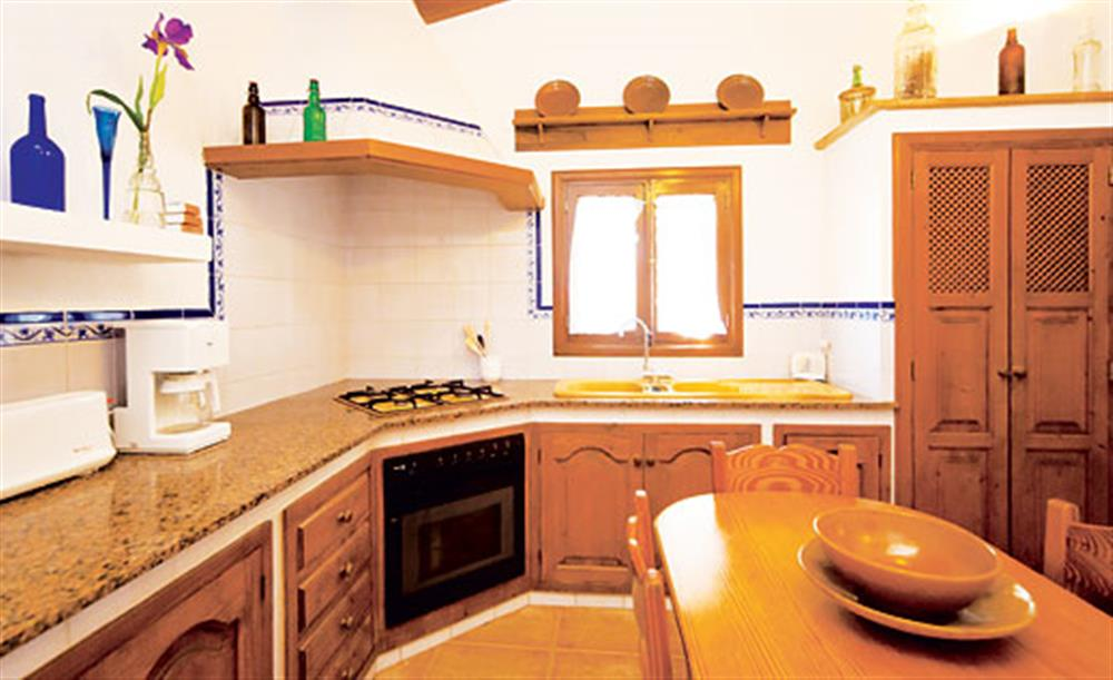 The kitchen at Villa Isabel, Pollensa Mallorca, Spain