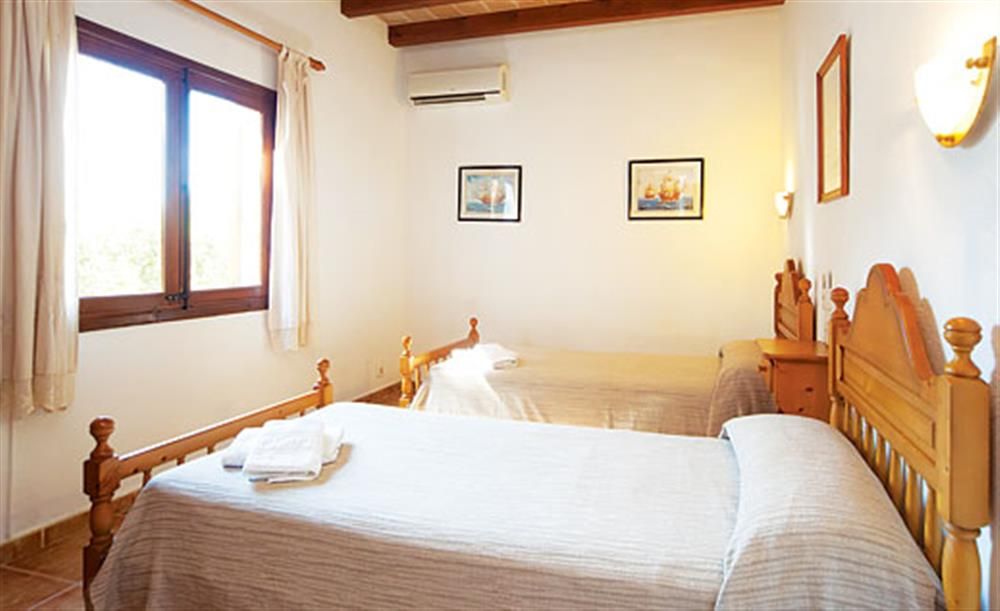 Twin bedroom (photo 2) at Villa Isabel, Pollensa Mallorca, Spain
