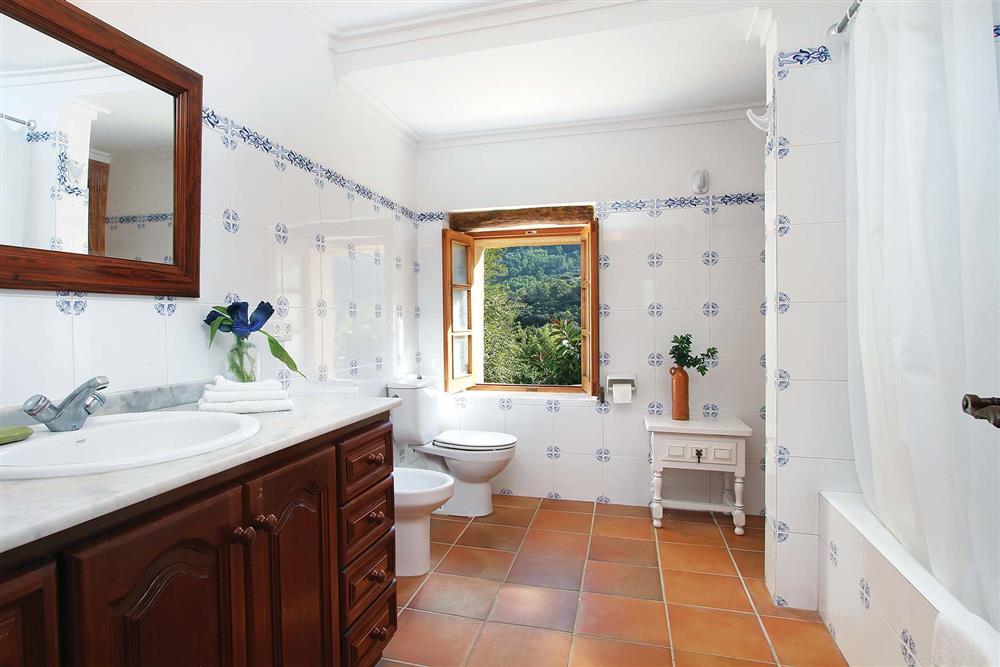Bathroom at Villa Jaume Ramona, Pollensa, Mallorca