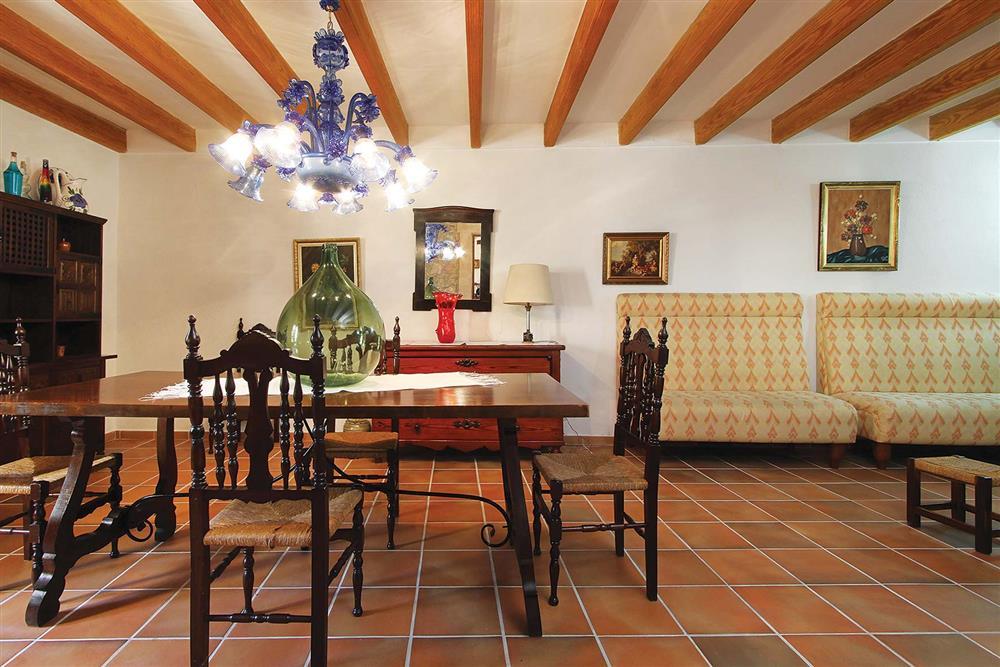 Dining room at Villa Jaume Ramona, Pollensa, Mallorca