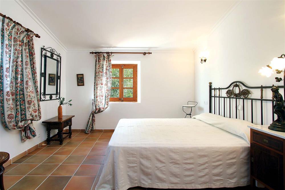 Double bedroom at Villa Jaume Ramona, Pollensa, Mallorca