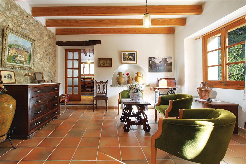 Living room at Villa Jaume Ramona, Pollensa, Mallorca