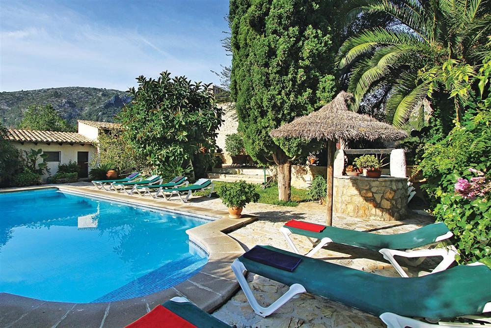 Swimming pool at Villa Jaume Ramona, Pollensa, Mallorca