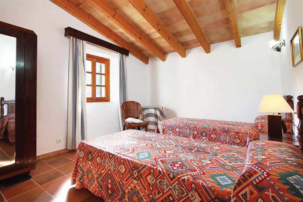 Twin bedroom (photo 2) at Villa Jaume Ramona, Pollensa, Mallorca
