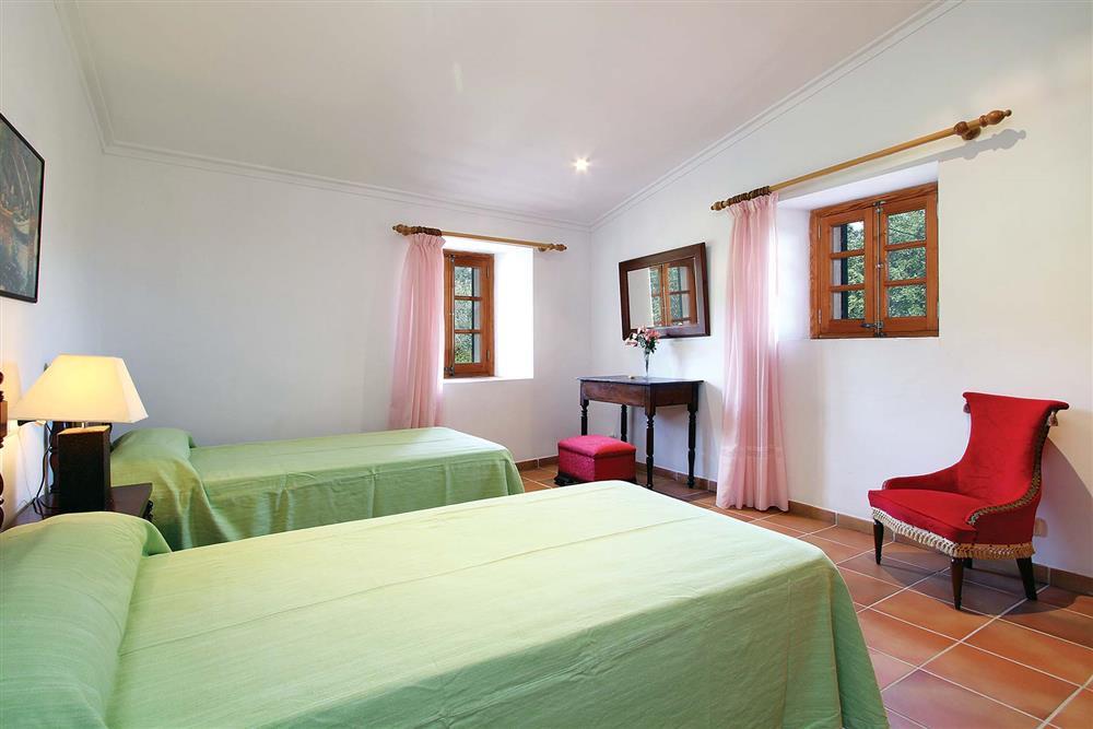 Twin bedroom at Villa Jaume Ramona, Pollensa, Mallorca