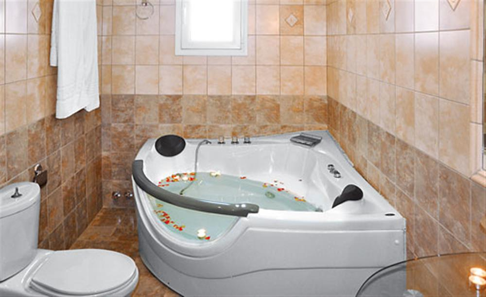 Bathroom at Villa Karetta, Lake Korrison Corfu, Greece