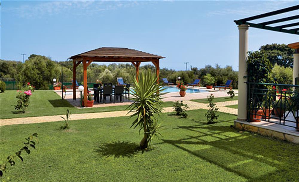 Garden at Villa Karetta, Lake Korrison Corfu, Greece