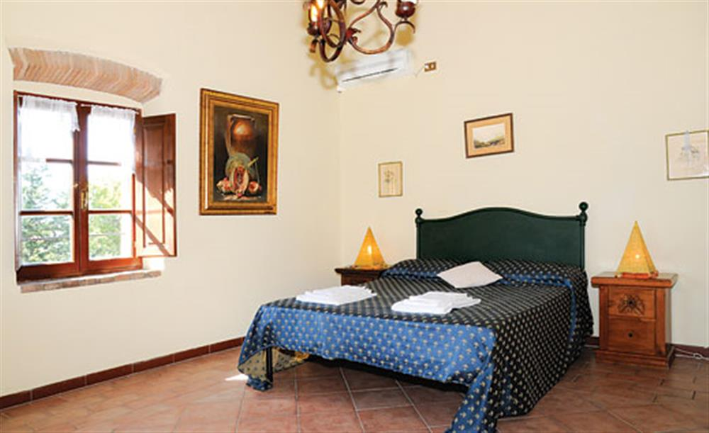 Double bedroom (photo 2) at Villa La Lespa, Santa Luce Tuscany, Italy