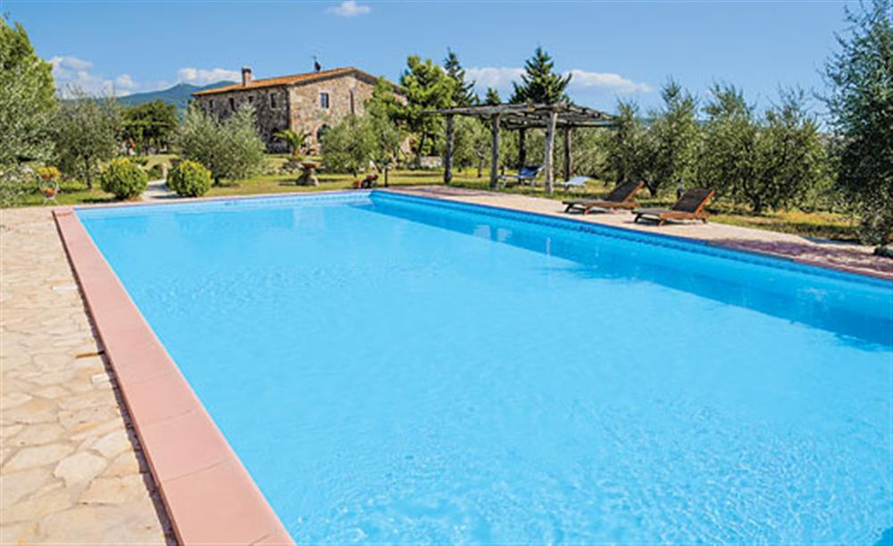 Swimming pool (photo 4) at Villa La Lespa, Santa Luce Tuscany, Italy