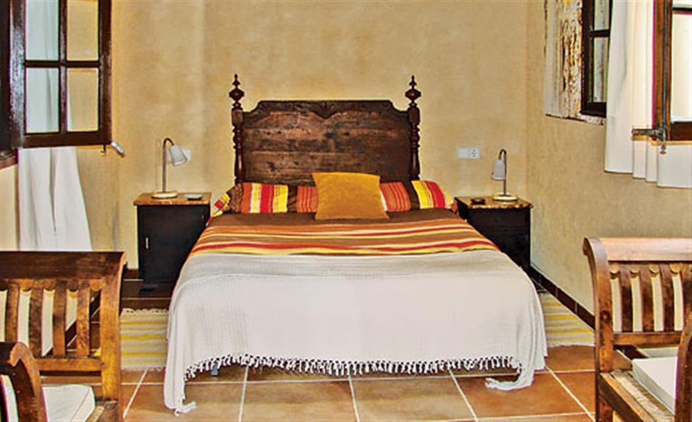Double bedroom at Villa La Nova, Pollensa, Mallorca