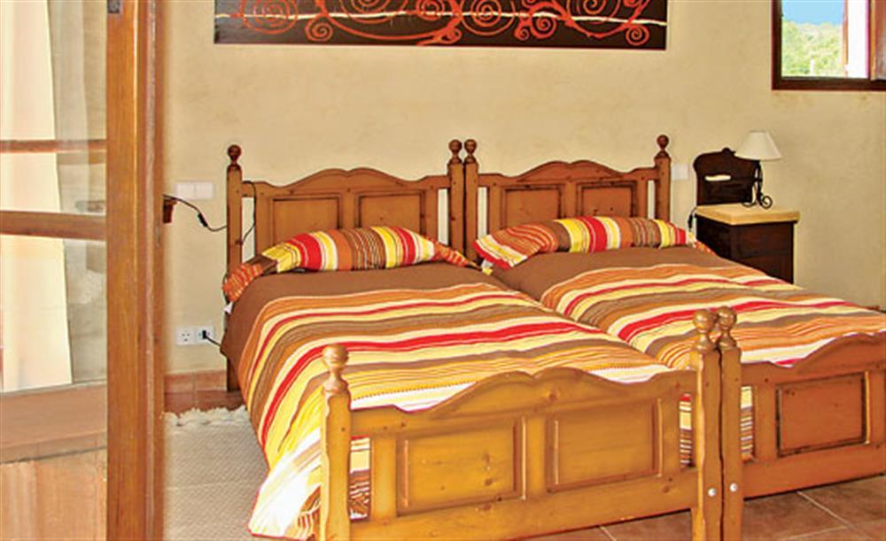 Twin bedroom (photo 2) at Villa La Nova, Pollensa, Mallorca