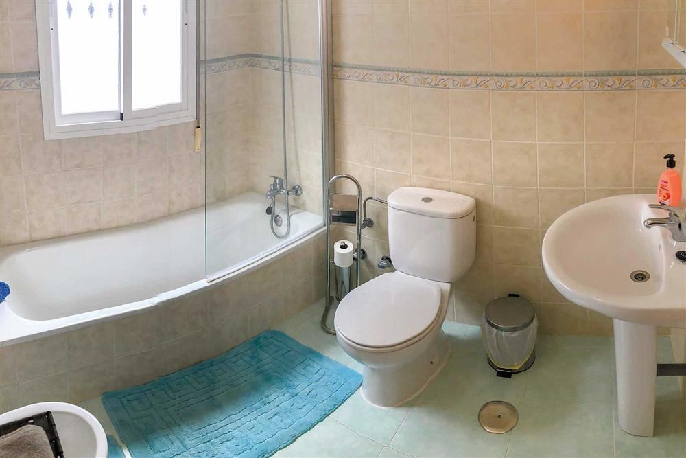 Bathroom at Villa Las Rosinas, Competa, Andalucia