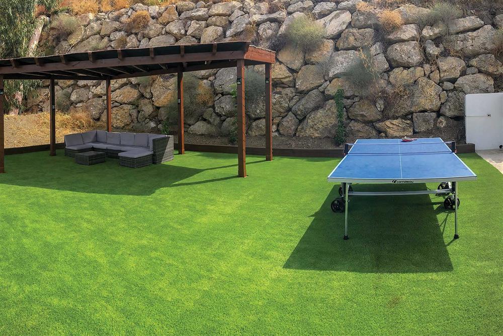 Table tennis at Villa Las Rosinas, Competa, Andalucia