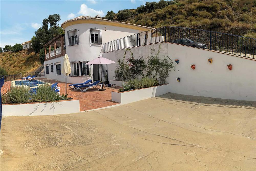 Villa exterior at Villa Las Rosinas, Competa, Andalucia