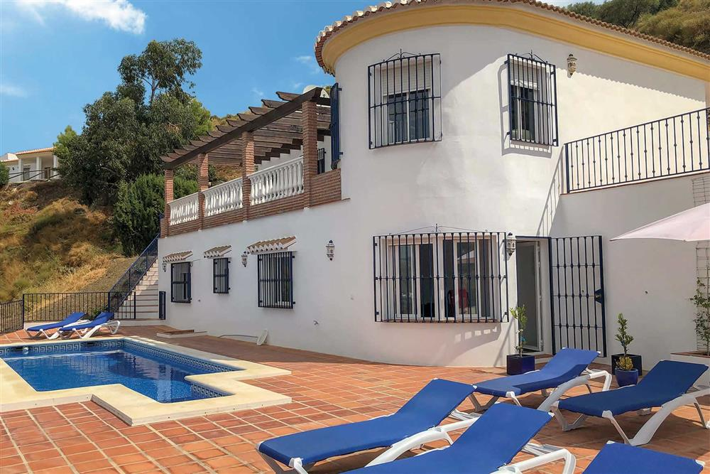 Villa with pool (photo 2) at Villa Las Rosinas, Competa, Andalucia